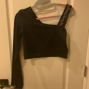 LF one shoulder top